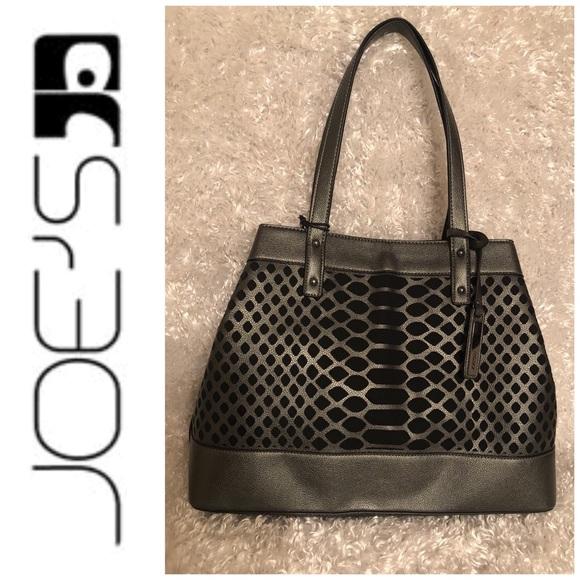 0ffaaae47b5c Joe's Jeans Bags | Joes Jeans Addison Pewter Handbag Tote | Poshmark